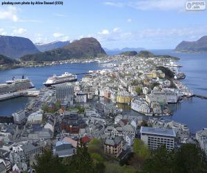 Ålesund, Norwegen puzzle