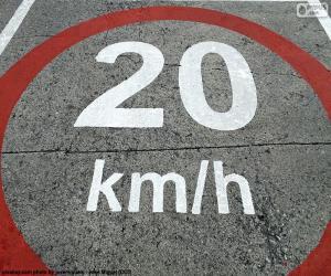 20 km/h zone puzzle