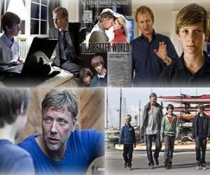 2011 Oscar - Bester fremdsprachiger Film: Susan Bier - In einer besseren Welt - (Dänemark) 1 puzzle