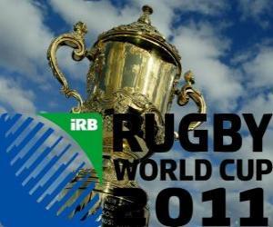 2011 Rugby World Cup. Es ist in Neuseeland von 9 September - 23 Oktober gefeiert puzzle