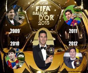 2015 FIFA Ballon d 'Or puzzle