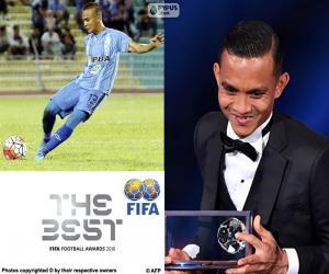 2016 FIFA Puskás Award puzzle