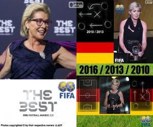 2016 FIFA-Welttrainer – Frauen puzzle