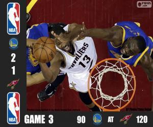 2016 NBA Finale Spiel 3 puzzle
