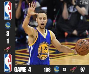 2016 NBA Finale Spiel 4 puzzle