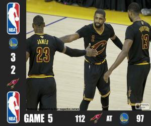 2016 NBA Finale Spiel 5 puzzle