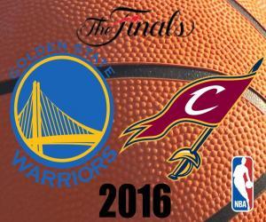 2016 NBA Finale puzzle