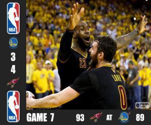 2016 NBA Finals, Spiel 7 puzzle