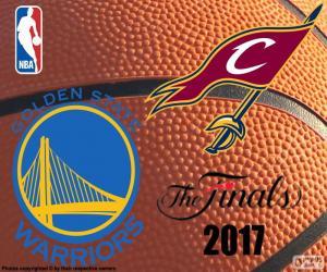 2017 NBA Finals puzzle