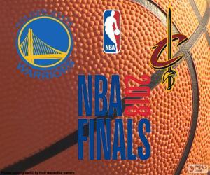 2018 NBA Finale puzzle