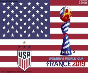 2019-Weltmeister USA puzzle
