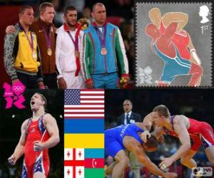 96 kg Freistil Männer London 2012 puzzle