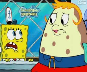 SpongeBob und Mrs. Puff puzzle