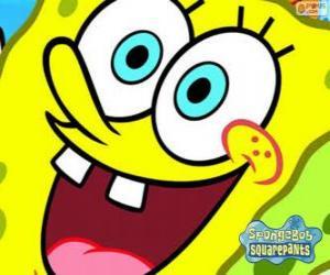 SpongeBob ist der Held der Abenteuer in Bikini Bottom puzzle