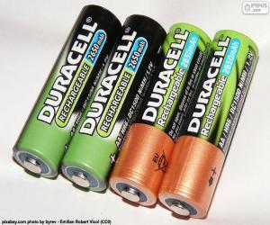 AA-Batterien puzzle