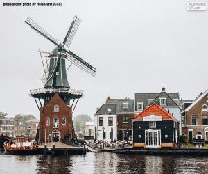 Adriaan Mill, Haarlem, Niederlande puzzle