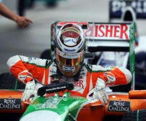 Adrian Sutil, Force India puzzle