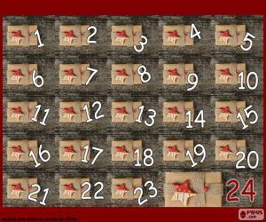 Adventskalender-Geschenke puzzle