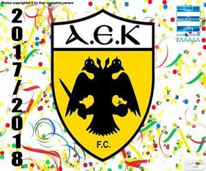 AEK Athen F.C., Super Lig 2017-18 puzzle