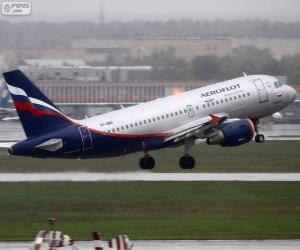 Aeroflot, Russian Airlines puzzle