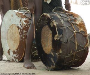Afrikanische Trommeln puzzle