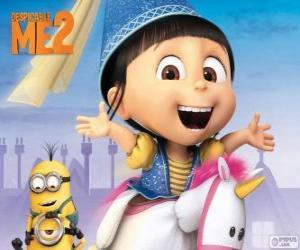 Agnes ist zart und lustig puzzle