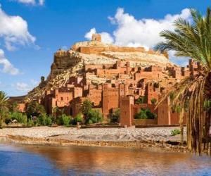 AIT Ben Haddou, Marokko puzzle