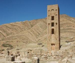 Al Qal'a Beni Hammad, Algerien puzzle