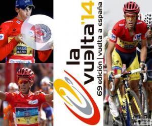 Alberto Contador, Sieger der Tour von Spanien 2014 puzzle
