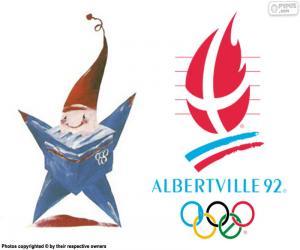 Albertville 1992 Olympische Spiele puzzle