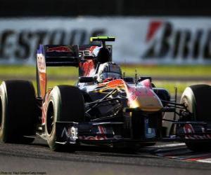 Alguersuari - Toro Rosso - Suzuka 2010 puzzle
