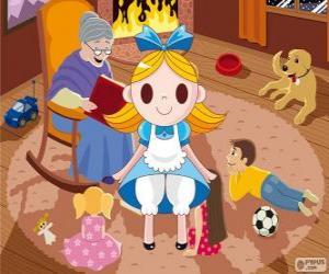 Alice im Wunderland puzzle