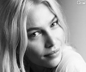 Aline Weber, brasilianisches model puzzle