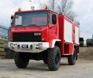 All-Terrain-Feuerwehrauto puzzle