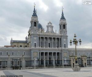Almudena Kathedrale, Madrid puzzle