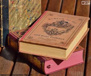 Alte Bücher puzzle