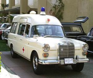 alten Krankenwagen puzzle
