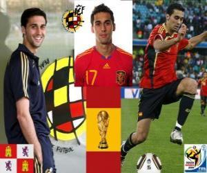 Álvaro Arbeloa (The Spartan) spanische Team Verteidigung puzzle