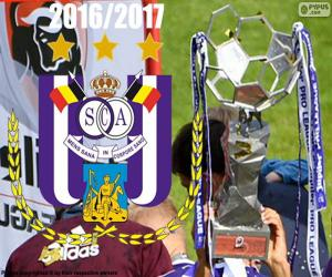 Anderlecht, Meister 2016-2017 puzzle