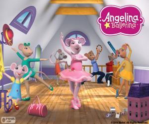 Angelina Ballerina-essay puzzle