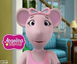 Angelina Ballerina-Gesicht puzzle