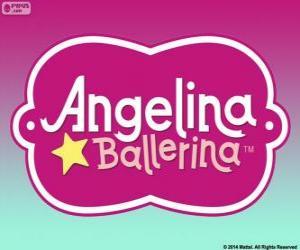 Angelina Ballerina logo puzzle