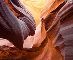 Antelope Canyon, Vereinigten Staaten puzzle