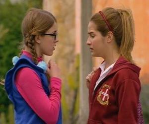 Antonella und Patito erzählt, die nicht Schwestern, weil sein Vater nicht Leandro puzzle