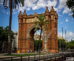 Arc de Triomf, Barcelona puzzle