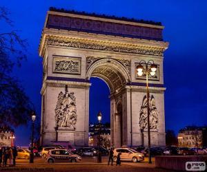 Arc de Triomphe, Paris puzzle