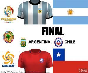 ARG-CHI Finale Copa America 2016 puzzle