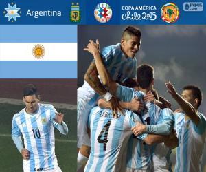 ARG Finalist, Copa America 2015 puzzle