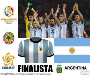 ARG Finalist, Copa America 2016 puzzle