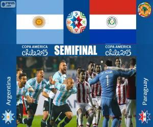 ARG - PAR, Copa America 2015 puzzle